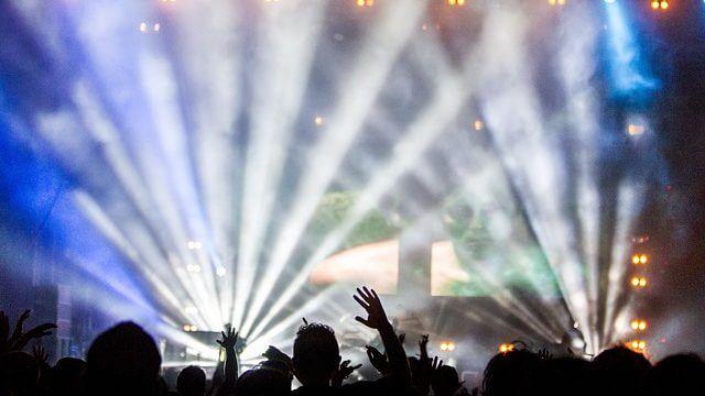 ライブのライト