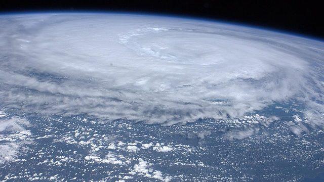 地球上の台風