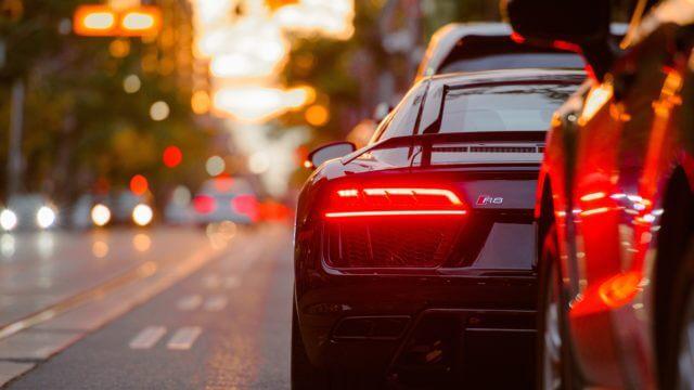 車ヘッドライト