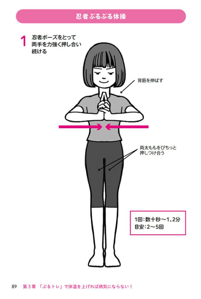 忍者ぷるぷる体操